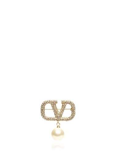 Valentino Garavani Broş Altın